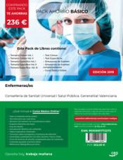 PACK AHORRO BÁSICO. Enfermeras/os. Conselleria de Sanitat Universal i Salut Pública. Generalitat Valenciana de Ed. CEP