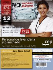 PACK AHORRO BÁSICO. Personal de lavandería y planchado. Servicio Andaluz de Salud (SAS) de Ed. CEP