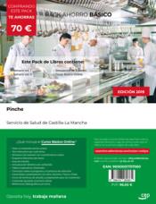PACK AHORRO BÁSICO. Pinche. Servicio de Salud de Castilla-La Mancha. SESCAM de Ed. CEP
