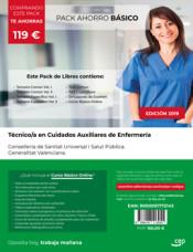 PACK AHORRO BÁSICO. Técnico/a en Cuidados Auxiliares de Enfermería. Conselleria de Sanitat Universal i Salut Pública. Generalitat Valenciana de Ed. CEP