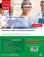 PACK AHORRO BÁSICO. Técnico/a en Cuidados Auxiliares de Enfermería. Servicio de Salud de Castilla-La Mancha. SESCAM de Ed. CEP