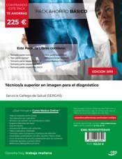 PACK AHORRO BÁSICO. Técnico/a superior en imagen para el diagnóstico. Servicio Gallego de Salud (SERGAS) de Ed. CEP