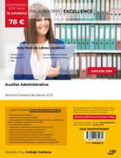 PACK AHORRO EXCELLENCE. Auxiliar Administrativo. Servicio Canario de Salud. SCS de Ed. CEP