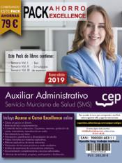 PACK AHORRO EXCELLENCE. Auxiliar Administrativo. Servicio Murciano de Salud de Ed. CEP
