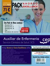 PACK AHORRO EXCELLENCE. Auxiliar de Enfermería. Servicio Cántabro de Salud. SCS de Ed. CEP
