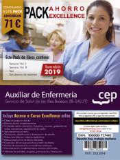 PACK AHORRO EXCELLENCE. Auxiliar de Enfermería. Servicio de Salut de las Illes Balears. IB-SALUT de Ed. CEP
