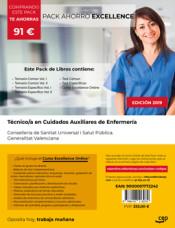 PACK AHORRO EXCELLENCE. Técnico/a en Cuidados Auxiliares de Enfermería. Conselleria de Sanitat Universal i Salut Pública. Generalitat Valenciana de Ed. CEP