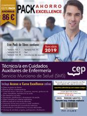 PACK AHORRO EXCELLENCE. Técnico/a en Cuidados Auxiliares de Enfermería. Servicio Murciano de Salud. SMS de Ed. CEP