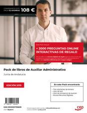 PACK AHORRO Oposiciones Auxiliar Administrativo Junta de Andalucía de Ed. CEP