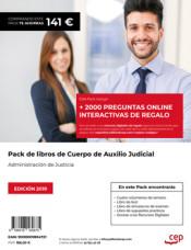 Pack Ahorro Oposiciones Auxilio Judicial de Ed. CEP