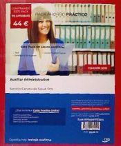 PACK AHORRO PRÁCTICO. Auxiliar Administrativo. Servicio Canario de Salud. SCS de Ed. CEP