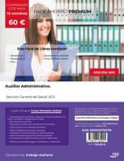 PACK AHORRO PREMIUM. Auxiliar Administrativo. Servicio Canario de Salud. SCS de Ed. CEP