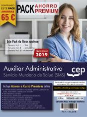 PACK AHORRO PREMIUM. Auxiliar Administrativo. Servicio Murciano de Salud de Ed. CEP