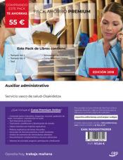 PACK AHORRO PREMIUM. Auxiliar Administrativo. Servicio vasco de salud-Osakidetza de Ed. CEP