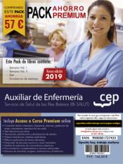 PACK AHORRO PREMIUM. Auxiliar de Enfermería. Servicio de Salut de las Illes Balears. IB-SALUT de Ed. CEP