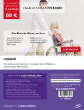 PACK AHORRO PREMIUM. Celador. Conselleria de Sanitat Universal i Salut Pública. Generalitat Valenciana de Ed. CEP