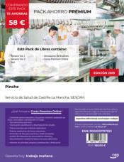 PACK AHORRO PREMIUM. Pinche. Servicio de Salud de Castilla-La Mancha. SESCAM de Ed. CEP