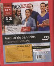 PACK BÁSICO. Auxiliar de Servicios (personal laboral). Comunidad de Madrid de Ed. CEP