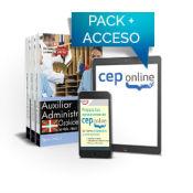 Pack de libros y Acceso Gratuito. Auxiliar Administrativo. Servicio vasco de salud-Osakidetza. de Ed. CEP