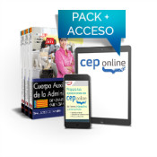 Pack de libros y Acceso gratuito. Cuerpo Auxiliar de la Administración. Generalitat Valenciana de Ed. CEP