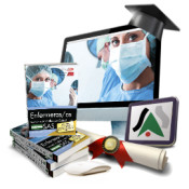 Pack de libros + curso avanzado. Enfermero/a. SAS de Ed. CEP