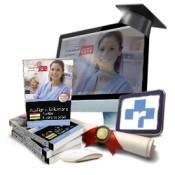 Pack de libros + curso avanzado. Técnico/a en Cuidados Auxiliares de Enfermería. Servicio Riojano de Salud de Ed. CEP