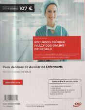 Pack de libros Oposiciones Auxiliar de Enfermería Servicio Canario de Salud de Ed. CEP