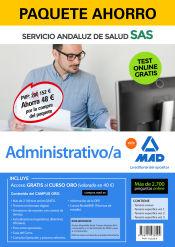 Paquete Ahorro Administrativo del Servicio Andaluz de Salud (SAS) de Ed. MAD