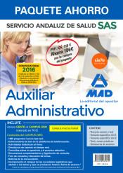 Paquete Ahorro Auxiliar Administrativo del Servicio Andaluz de Salud de Ed. MAD