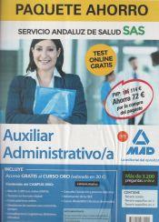 Paquete Ahorro Auxiliar Administrativo del Servicio Andaluz de Salud (SAS) de Ed. MAD