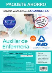Paquete Ahorro Auxiliar de Enfermería de Osakidetza de Ed. MAD