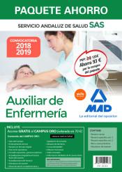 Paquete Ahorro Auxiliar de Enfermería del Servicio Andaluz de Salud de Ed. MAD