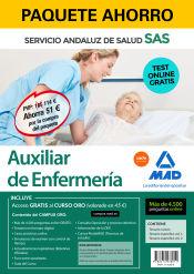 Paquete Ahorro Auxiliar de Enfermería del Servicio Andaluz de Salud (SAS) de Ed. MAD