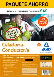 Paquete Ahorro Celador/a Conductor/a del Servicio Andaluz de Salud (SAS) de Ed. MAD