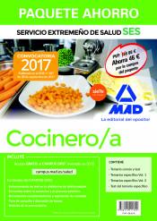 Paquete Ahorro Cocinero/a del Servicio Extremeño de Salud de Ed. MAD