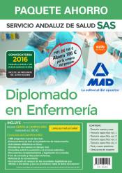 Paquete Ahorro Diplomado en Enfermería del Servicio Andaluz de Salud de Ed. MAD