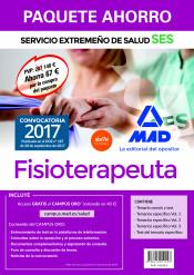 Paquete Ahorro Fisioterapeuta del Servicio Extremeño de Salud de Ed. MAD