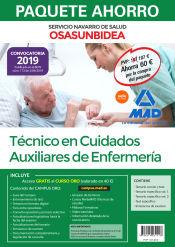 Paquete Ahorro Técnico en Cuidados Auxiliares de Enfermería del Servicio Navarro de Salud-Osasunbidea de Ed. MAD
