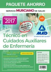 PAQUETE AHORRO TÉCNICO EN CUIDADOS AUXILIARES DE ENFERMERÍA DEL SERVICIO MURCIANO DE SALUD de Ed. MAD