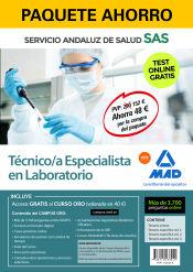 Paquete Ahorro Técnico/a Especialista de Laboratorio del Servicio Andaluz de Salud (SAS) de Ed. MAD