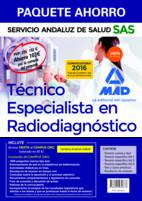 Paquete Ahorro Técnico Especialista en Radiodiagnóstico del Servicio Andaluz de Salud de Ed. MAD