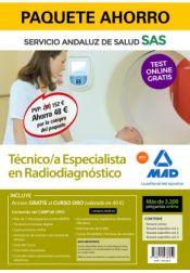 Paquete Ahorro Técnico/a Especialista en Radiodiagnóstico del Servicio Andaluz de Salud (SAS) de Ed. MAD
