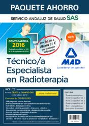 Paquete Ahorro Técnico Especialista en Radioterapia del Servicio Andaluz de Salud de Ed. MAD