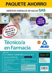 Paquete Ahorro Técnico/a en Farmacia del Servicio Andaluz de Salud de Ed. MAD