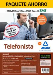 Paquete Ahorro Telefonista del Servicio Andaluz de Salud de Ed. MAD