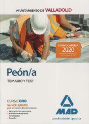 Peón/a del Ayuntamiento de Valladolid. Temario y test de Ed. MAD