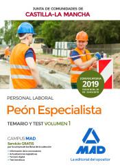 Peón Especializado de la Junta de Comunidades de Castilla-La Mancha - Ed. MAD