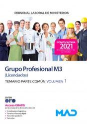 Personal laboral de Ministerios Grupo Profesional M3 (Grupo I) - Ed. MAD