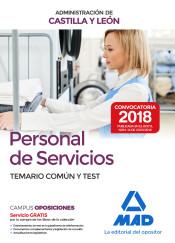 Personal de Servicios (Grupo V Personal Laboral) de la Administración de Castilla y León - Ed. MAD