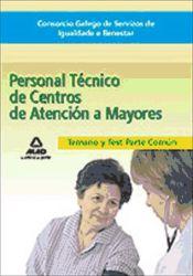 Consorcio Galego de Servizos de Igualdade e Benestar. Enfermero/a de Centros de Atención a Mayores - Ed. MAD